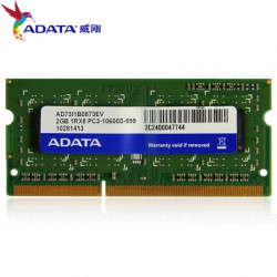 ADATA 2GB DDR3 1600 Bus Laptop Ram
