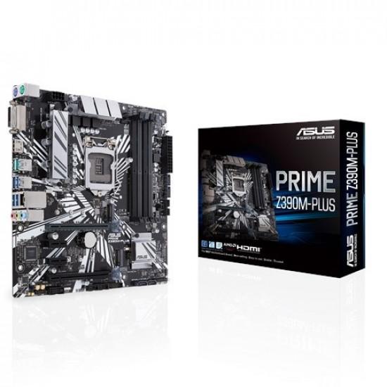 ASUS PRIME Z390M-PLUS 9th Gen mATX Motherboard