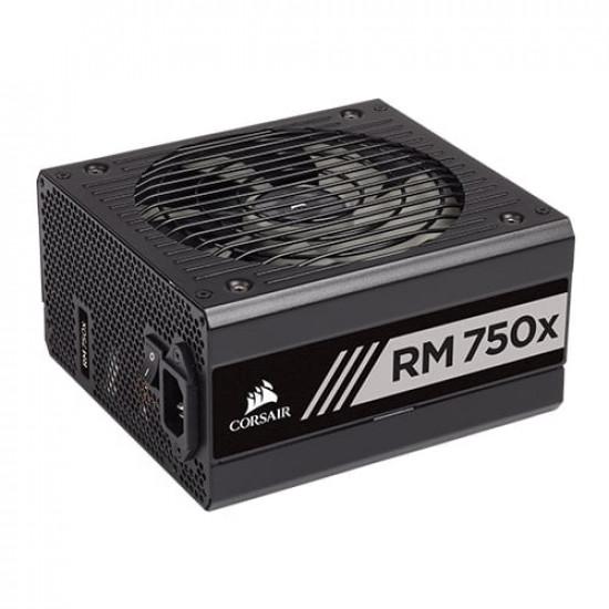 Corsair RM750X 750 Watt 80 Plus Gold Certified Fully Modular Power Supply