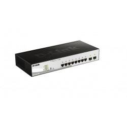 D-Link DGS-1210-10P 8 Port Gigabit Switch
