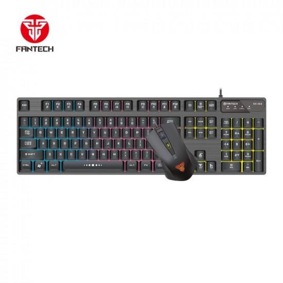 Fantech KX302 Major USB Gaming Keyboard Mouse Combo Black