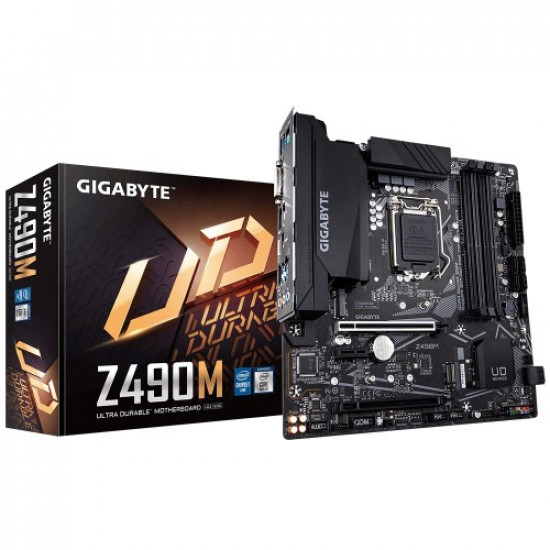 Gigabyte Z490M Ultra Durable 10th Gen Advanced Thermal Design Micro ATX Motherboard