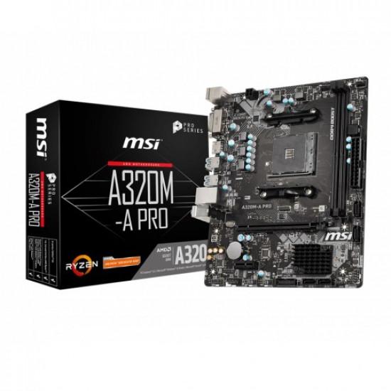 MSI A320M-A Pro AMD Micro-ATX Motherboard