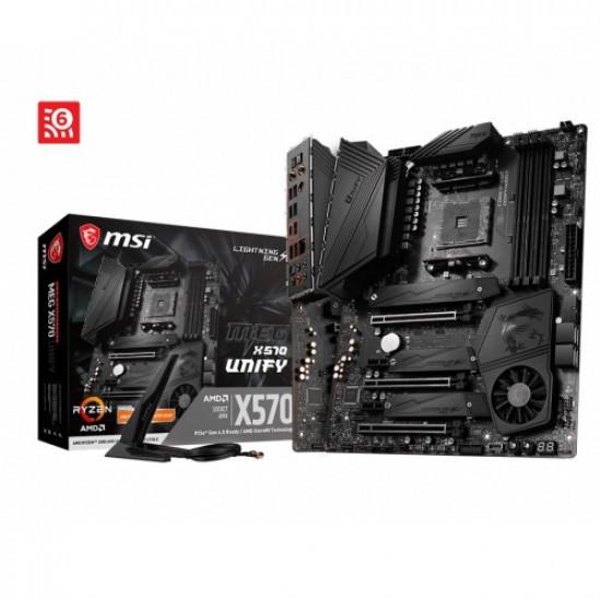 MSI Meg X570 Unify WiFi AMD Motherboard