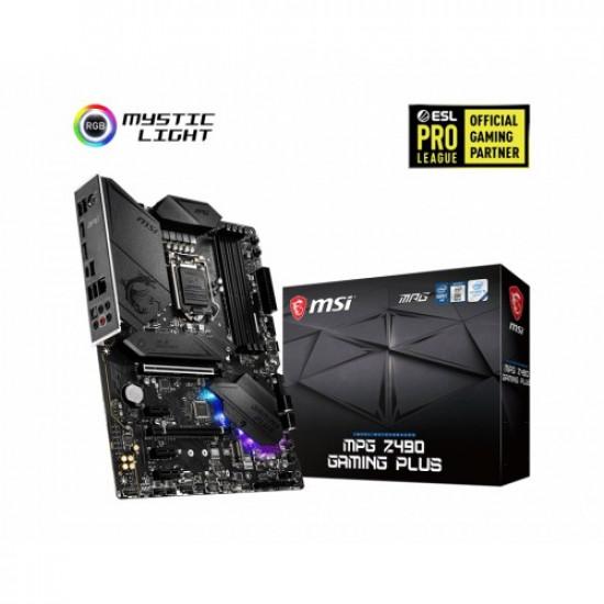 MSI MPG Z490 Gaming Plus ATX Motherboard
