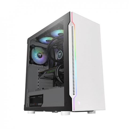 Thermaltake H200 TG SNOW RGB ATX Mid Tower Case