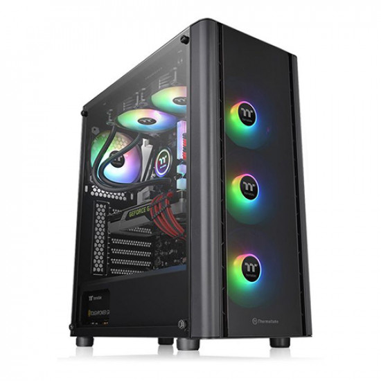 Thermaltake V250 Tempered Glass ARGB Mid-Tower Gaming Case