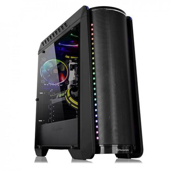 Thermaltake Versa C24 RGB Mid-Tower Casing (Black)