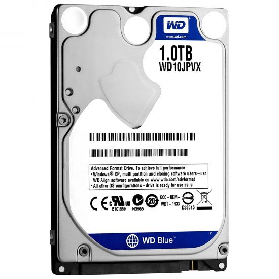 Western Digital 1TB Blue Laptop HDD