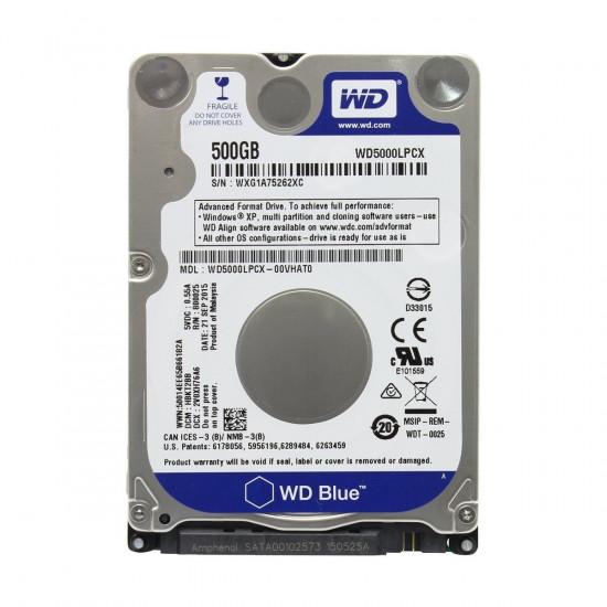 Western Digital 500GB Blue Laptop HDD